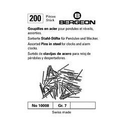 COPPIGLIE IN ACCIAIO BERGEON N°10008