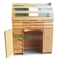 BENCH FOR WATCHMAKER(27 drawers)