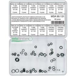 ASSORTMENT OF 60 GASKETS MSA 99.131