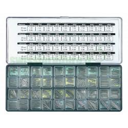 ASSORTIMENTO ANSE INOX 1,30/1,50/1,80mm MSA 99.064