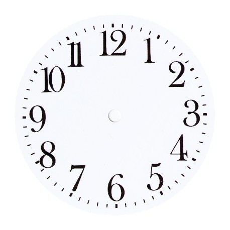 Wall Clock Dial Arabic Swiss Forniture