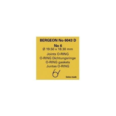 GUARNIZIONI BERGEON N° 6043D