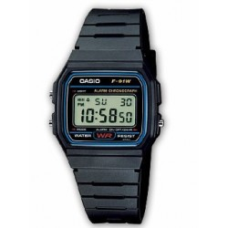 BOX OF 10 CASIO F-91W-1YER