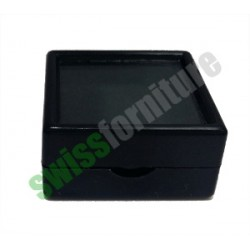 BLACK GEMSTONE BOX 25X25 ref. B31452