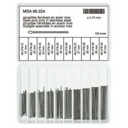 Perni spaccati per bracciali MSA 99.048
