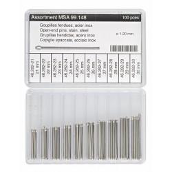 Perni spaccati per bracciali MSA 99.137