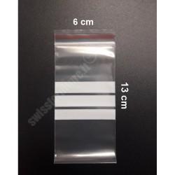 PACCO DA 100 BUSTINE IN PLASTICA 6x13