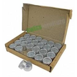 Set di scatolini in alluminio Ref. B39616