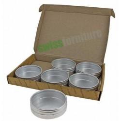 Set di scatolini in alluminio Ref. B39611