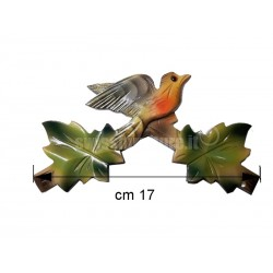 COLOR TOP CROWN FOR CUCKOO CLOCK of 22cm