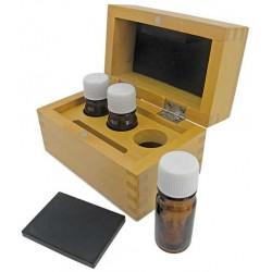 TESTING ACID BOTTLE WOODEN BOX ref. n.B22159