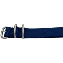 BLUE NATO STRAP (HEAVY DUTY)