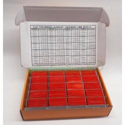 BOX OF 164 FLAT MINERAL GLASS HT. 1,50MM