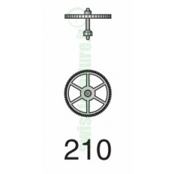 THIRD WHEEL ref. 210 eta 2651 - 2671