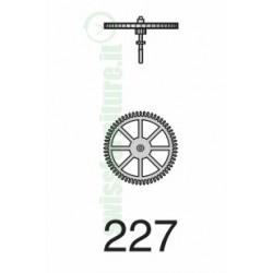 SECOND WHEEL ref. 227 eta 2651 - 2671