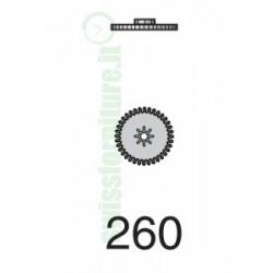MINUTE WHEEL ref. 255 eta 2651 - 2671