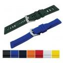 Silicon - rubber watch strap